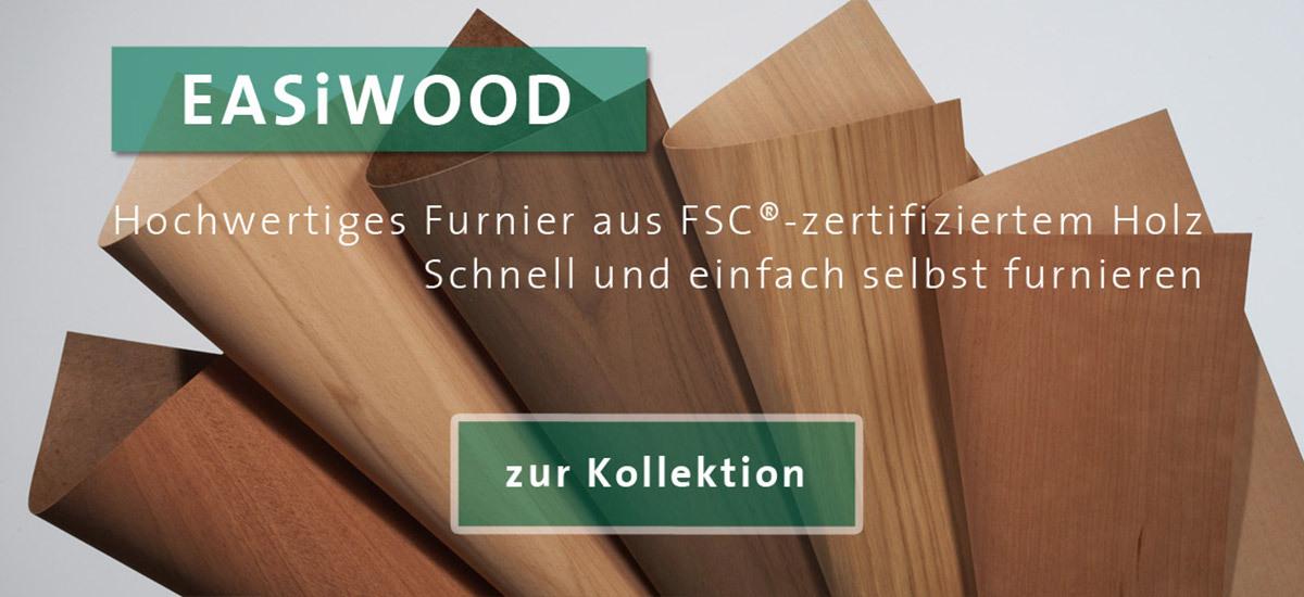 Furnieren Leicht Gemacht Echtholzfurnier In Eiche Nussbaum Und